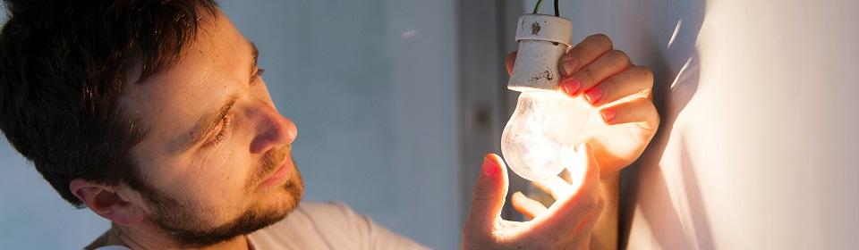 lamp installeren